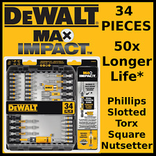 DeWALT Max Impact Screwdriving Set - 34 Pieces