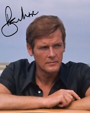 ROGER MOORE #2 10x8 PRE PRINTED LAB QUALITY PHOTO PRINT - Free Delivery
