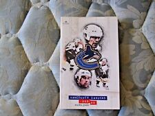 1998-89 VANCOUVER CANUCKS MEDIA GUIDE Yearbook 1999 Press Book Program NHL AD