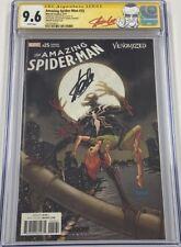 Marvel Amazing Spider-Man #25 Venomized Venom Variant Signed Stan Lee CGC 9.6 SS