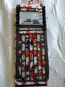 NWT Disney Minnie Mouse Dish 18x24 Drying Mat with 17.5x6.5 Drying Rack