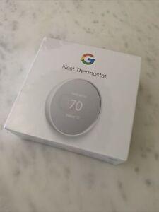 Google Nest Smart Home Programmable Wifi Thermostat Snow