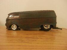 Hot Wheels 1/18 Scale Customized Rusty Barn Find VW Drag Bus