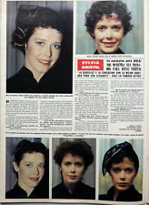 SYLVIA KRISTEL => 1 page 1982 vintage SPANISH CLIPPING !!!