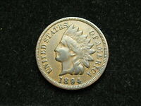 NEW INVENTORY!  XF 1894 INDIAN HEAD CENT PENNY w/ DIAMONDS & FULL LIBERTY 30B
