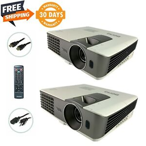 Lot of 2 - BenQ MX710 DLP Projector 2,700 ANSI Lumens 1080p PC 3D Ready w/bundle