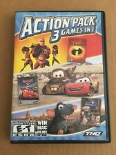 The Incredibles + Cars + Ratatouille Pc Mac Perfect With Manual