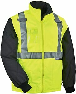 Ergodyne GloWear 8287 High Visibility Reflective Thermal Vest/Jacket 2XL XXL