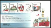 Canada # 2498 Canadian Pride Helicopter Ice Breaker MNH ** souvenir sheet