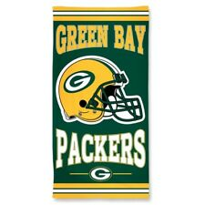 "Brand New NFL  Green Bay Packers Full Size Beach And Home Decor Towel 30"" X 60"""