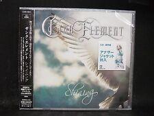 CINQ ELEMENT Shining JAPAN CD Head Phones President Lacuna Coil Female Vocal
