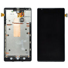 Black LCD Glass Lens Touch Screen Digitizer +Frame Assembly For Nokia Lumia 1520