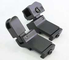 Sniper 45 Degree Flip-up Front And Rear Rapid Transition Sights RTS