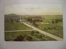 VINTAGE POSTCARD OF THE VIEW FROM THE TOWER ON HANCOCK AVE., IN GETTYSBURG, PA