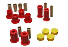 Energy Suspension Red Front Control Arm Bushing Set For 97-01 Dodge Dakota 2WD