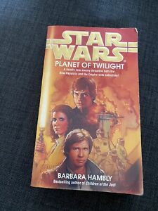 Star Wars Planet Of Twilight Barbara Hambly Paperback Book Science Fiction