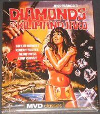 DIAMONDS OF KILIMANDJARO usa blu-ray NEW mvd classics JESS FRANCO katja bienert
