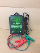 Electric Fence Energiser 12V  XSTOP 0.6J + Connection Cables