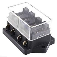 Box boite porte fusible pour 4 fusibles standards enfichables - NEUF