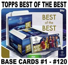 TOPPS CHAMPIONS LEAGUE BEST OF THE BEST 2021 SUPERSIZE - BASE CARDS #1 - #120