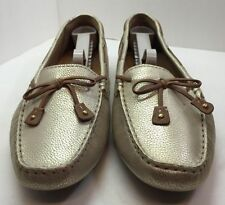 Clarks Artisan Womens Gold Loafers Shoe Size 9 M