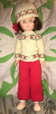 Mary Hoyer Becky Doll In Knit Outfit 1960's