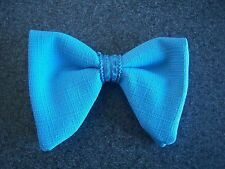 New Powder Blue bow tie - mens clip on style - 70's vintage