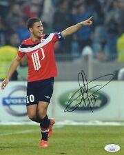 Lille OSC Eden Hazard Autographed Signed 8x10 Photo JSA COA #2