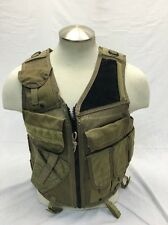 Eagle Industries LH TAC V 1 Assault Vest Khaki Old School Trim Tab SEALs Medium