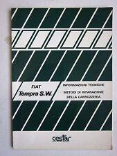 FIAT TEMPRA SW 1.4 S-1.6 S-1.8 i.e.-1.9 D-1.9 TD manuale riparazione carrozzeria