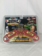 Rare WCW/NWO Electronic Thumb Wrestling Game With Sting VS DDP Toy Biz 1999 NEW