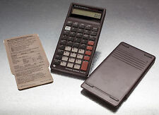 TI BAII PLUS  Business Calculator TEXAS INSTRUMENTS LCD: cover, batteries