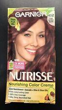 Garnier Nutrisse Hair Color Creme 452 Dark Reddish Brown YY