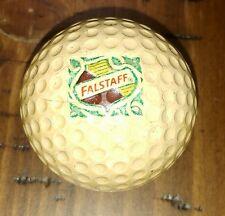 Falstaff Beer Golf Ball Dunlop Maxfli - Scarce - Falstaff Plant Managers Estate