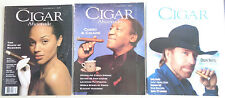 3 Cigar Aficionado Magazines Chuck Norris Cosby The Magic of Maduros 1993-98