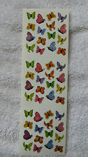 Sandylion BUTTERFLY MICRO PRISM Tiny Stickers RETIRED OUT OF PRINT VERY RARE