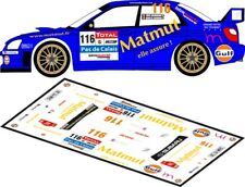 DECALS 1/43 SUBARU IMPREZA WRC  #116 - BARBARA - RALLYE DU TOUQUET 2012 - D43165