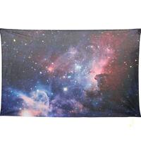 Universe Galaxy Indian Mandala Tapestry Wall Hanging Bohemian Bedspread Decor