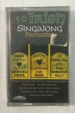 "Various Artists ""50 Irish Singalong Favourites"" NEW & SEALED Tape Cassette"