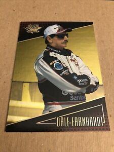 Dale Earnhardt 2001 Wheels High Gear MPH Holofoil Parallel Insert Card #2