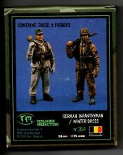 VERLINDEN 364 - GERMAN INFANTRYMAN WINTER DRESS (2 Figures) - 1/35 RESIN KIT