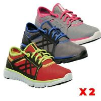 2 X Pairs Regatta Kids Boys Lace Up Sports Trainers Sneakers Shoes RRP £55 each