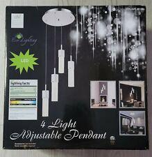 4 Light Adjustable Pendant Led Lamp