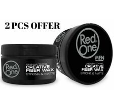 Red One Maximum Control Creative Fiber Hair Wax Strong Hold &Matte 2 Pcs Offer😱