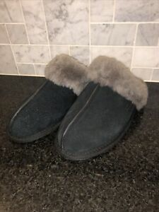 Women's UGG Black Scuffette II Slippers- size 7- BG1106872