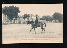 Horses Saumur Dressage 1903 Army Champion unused PPC