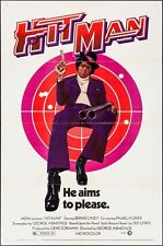 HIT MAN one sheet movie poster 27x41 PAM GRIER BERNIE CASEY BLAXPLOITATION 1973