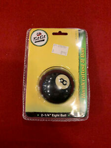 """Fat Cat 8 ball: 2-1/4"""" Eight Ball Pool Table Part"""
