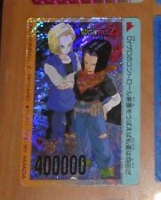 DRAGON BALL Z DBZ AMADA PP PART 17 CARD PRISM CARTE 718 VERSION PIXEL JAPAN **