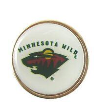 Minnesota Wild Golfers Hat Clip with Golf Ball Marker